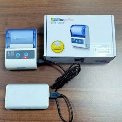 Printer Mini Thermal Bluetooth Murah - BPLite TMU58 - Charge dengan Powerbank