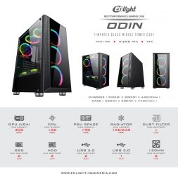 Case Gaming Enlight ODIN