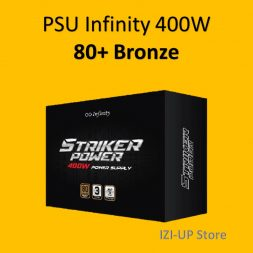 PSU Infinity 400 Watt - Power Supply 400W 80+ Bronze 400W - IZIUP-1